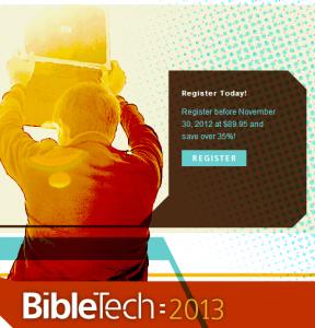 BibleTech2013